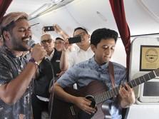 Wah, Ada Live Music Akustik di Penerbangan Garuda