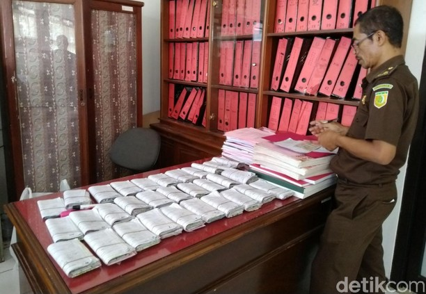 Tumpukan Surat Tilang Ditinggalkan Bertahun-tahun Pemiliknya