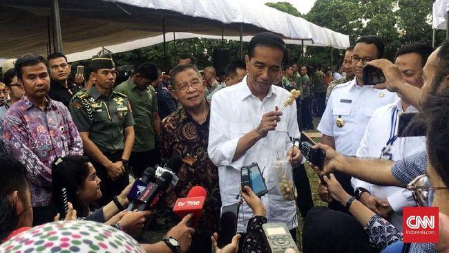 Jokowi Minta Perangkat Desa Tak Demo di Istana