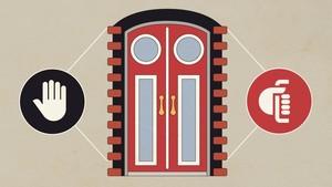 INFOGRAFIS: Tips Membuka Pintu saat Ke Luar Negeri