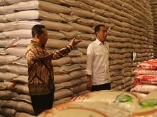 Kualitas Beras Bulog Rendah, Jokowi: Siapa Bilang?