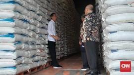 Jokowi Klaim Harga Beras Lebih Murah Rp50 per KG