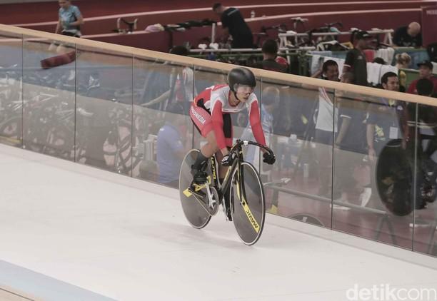 Hebat! Crismonita Raih Perunggu di Asian Track Championship