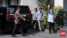 Prabowo-Sandi Temui SBY Jelang Debat Perdana Pilpres