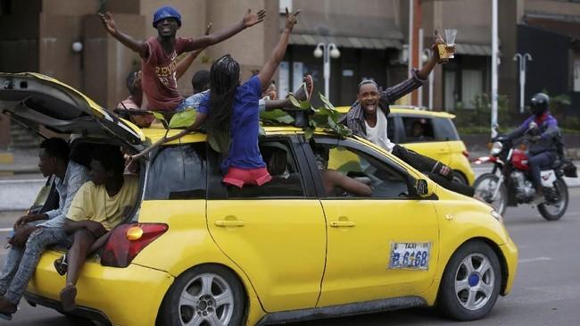 Meski unggul dalam pilpres, banyak kalangan menilai Felix Tshisekedi kurang cakap dan karismanya tidak sekuat sang ayah. (REUTERS/Baz Ratner)