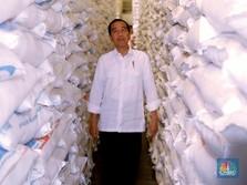 Jokowi Sambangi Gudang Bulog, Intip Pasokan Beras 2019