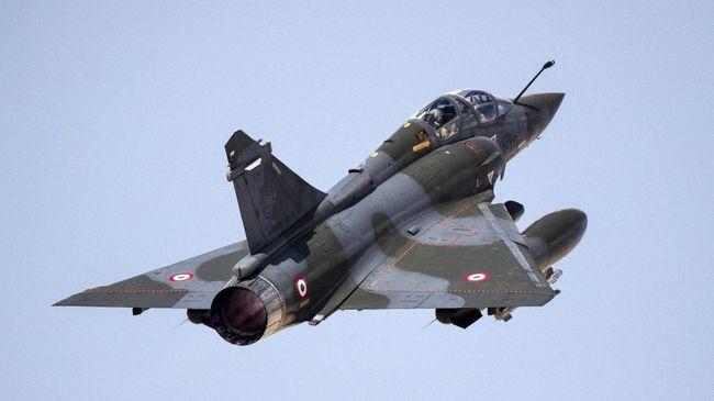 Awak Jet Tempur yang Jatuh di Prancis Masih Dicari