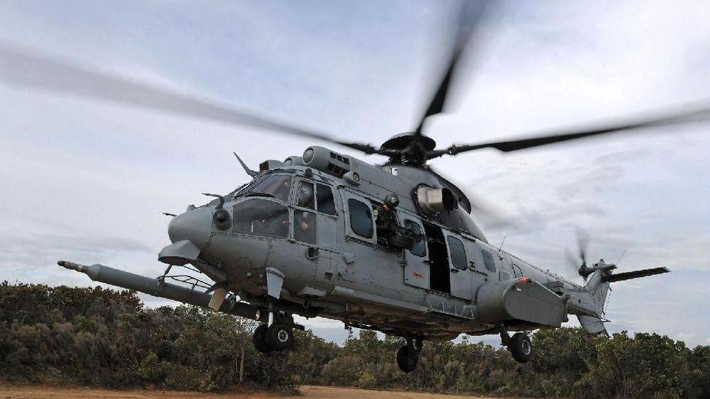 TNI Angkatan Udara (TNI AU) memesan kembali delapan H225M, helikopter multi-peran bermesin ganda. Pemesanan ini merupakan bagian dari upaya memperkuat armada TNI AU untuk tugas pencarian dan pertolongan (SAR) dalam kondisi tempur.(IstDoc: Airbus.com)