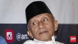 Diperiksa 10 Jam, Amien Sebut 'People Power' Konstitusional