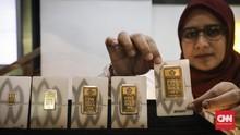 Maju Mundur Damai AS-China Bikin Kilau Harga Emas Tertahan