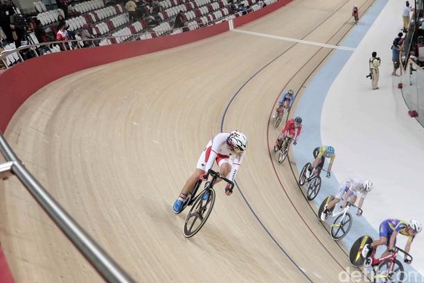 Pebalap Jepang Hashimoto Raih Emas Kejuaraan Asia Balap Sepeda