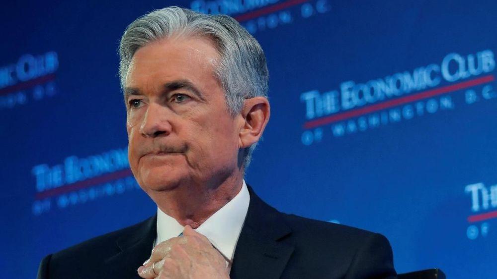 Powell mengatakan bank sentral AS memiliki kemampuan untuk bersabar dalam menaikkan bunga acuan mengingat inflasi stabil, yang memungkinkannya untuk menilai apakah ekonomi AS akan melambat tahun ini. (Reuters/Jim Young)