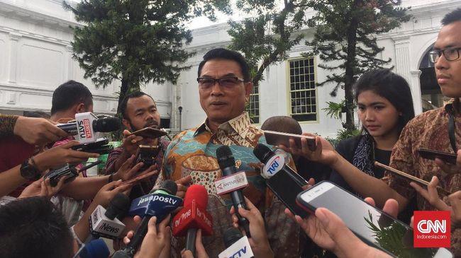 Moeldoko: Posko Prabowo-Sandi di Solo Ganggu Pemandangan