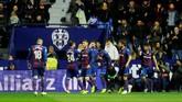 Namun Levante berhasil membuat kejutan besar dengan memimpin 2-0 saat pertandingan baru berjalan 18 menit. (REUTERS/Heino Kalis)