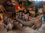 Produksi Ukiran Kayu Sanggar Primitif Target Pasar Wisatawan