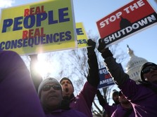 Trump, Shutdown Pemerintah Terlama & Ambisi Tembok Perbatasan