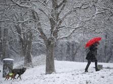 Badai Salju Terjang Wilayah Eropa, 21 orang Meninggal