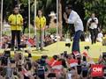 Jokowi Pamer Kemenangan di Solo dan Jakarta ke Alumni UI