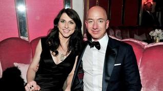 Cerai dari Bezos, MacKenzie Bakal Jadi Wanita Terkaya Dunia