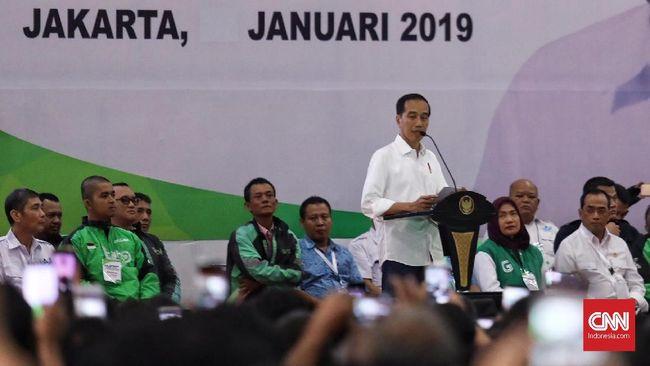 Jokowi: Saya Marah Jika Ada yang Meremehkan Pengemudi Online