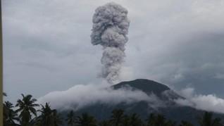 Gunung Ibu di Halmahera Utara Meletus, Penduduk Masih Aman