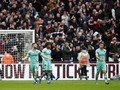 Arsenal Tumbang di Markas West Ham United