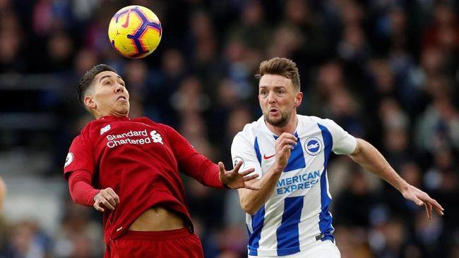 Liverpool Ditahan Imbang Brighton di Babak Pertama