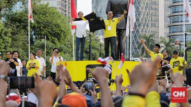 Jokowi Soal RI Punah: Jangan Ada Pesimis di Antara Kita