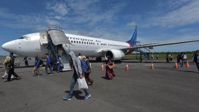Pecah Kongsi dengan Garuda, Sriwijaya Air Tunda Penerbangan