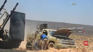 VIDEO: Rudal Israel Hantam Gudang Bandara di Suriah