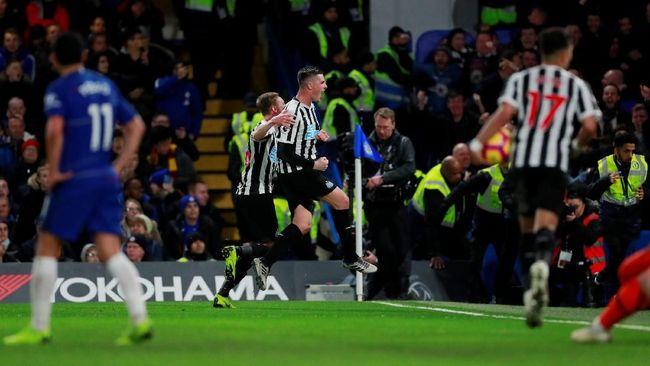 Sengit, Chelsea Ditahan Imbang Newcastle 1-1 di Babak Pertama