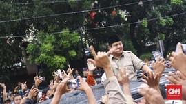 Survei Roy Morgan: Prabowo Kuasai Jawa Barat dan Jakarta