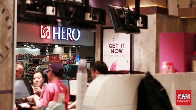 Hero Supermarket Klaim Penuhi Hak PHK 92 Persen Karyawan