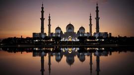 FOTO: Masjid Terbesar Ketiga Dunia yang Bergelimang Kemegahan