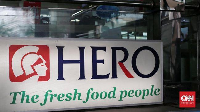 Hero Supermarket Tutup 26 Lapak, 532 Karyawan di-PHK