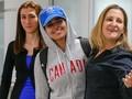 VIDEO: Pencari Suaka asal Arab Saudi Disambut Menlu Kanada