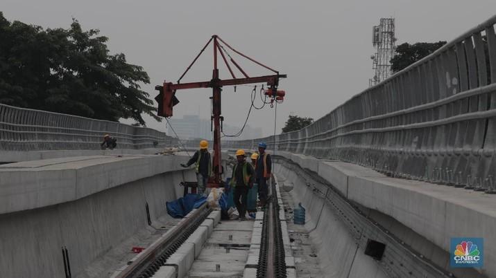 Sambungkan Jakarta-Bekasi, Tarif LRT Dipatok Rp 12 Ribu