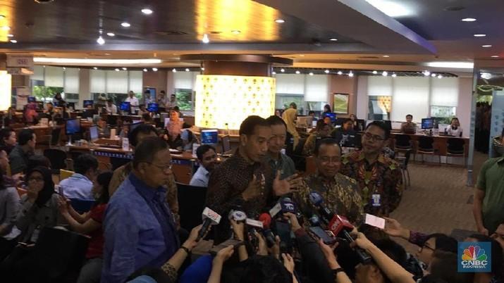 Jokowi Mau Integrasi Izin Investasi dengan Daerah Dipercepat