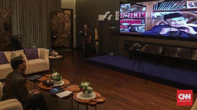 Jokowi ke Habibie: Kondisi Ekonomi dan Politik Indonesia Baik