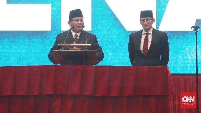Jelang Pemilu, Prabowo-Sandi Fokus 'Garap' Jateng dan Jatim