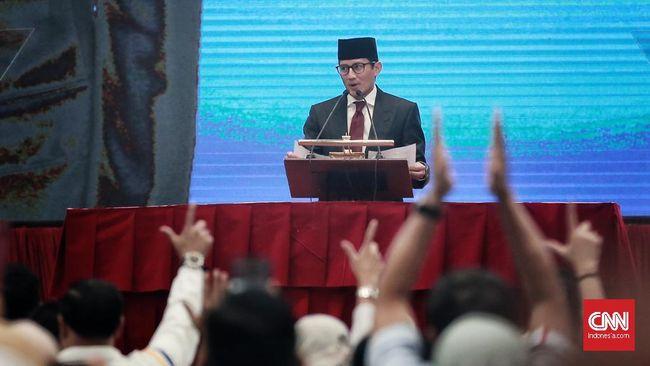 Soal Mundur, Sandi Sebut Prabowo Hanya Ingin Pemilu Jurdil