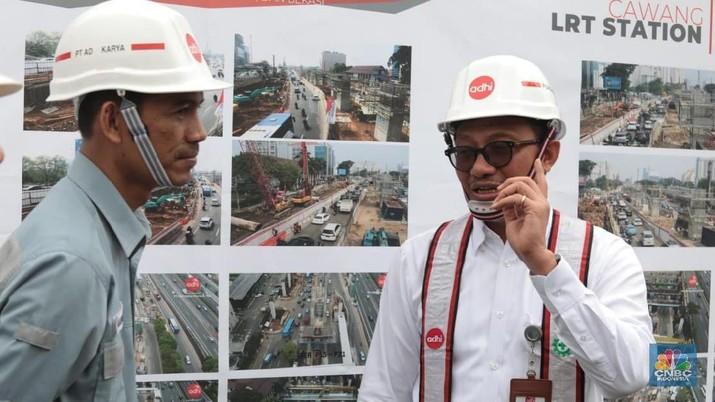 Salah satunya adalah pengerjaan proyek penunjukan untuk mengembangkan jalur kereta layang alias loopline untuk lintasan KRL Commuter Line.