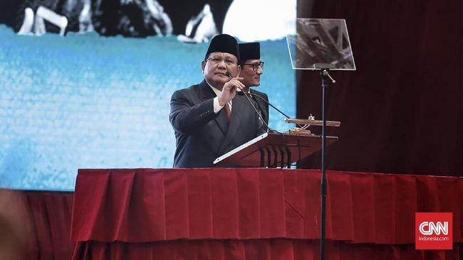 Prabowo: Jangan 'Inteli' Ulama dan Mantan Presiden