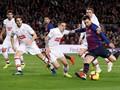 Suarez dan Messi Cetak Gol, Barcelona Lumat Eibar 3-0