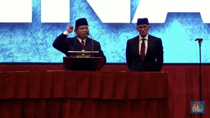 Jika Menang Pilpres, Ini 5 Program Kerja Prabowo-Sandi