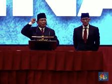 Simak! Serangan Bertubi-Tubi Prabowo dari Impor sampai Utang