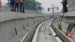 VIDEO: Harga Mahal Bangun LRT Jabodebek