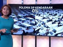 Aturan DP Kendaraan 0% OJK Tuai Kritikan