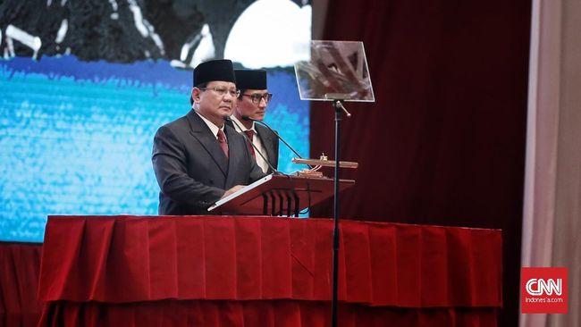 Prabowo Subianto: Jangan-jangan 10 Tahun Lagi Sudah Mati Kita