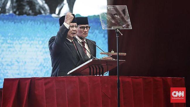 Di Luar Teks Pidato, Prabowo Singgung Mobil Nasional